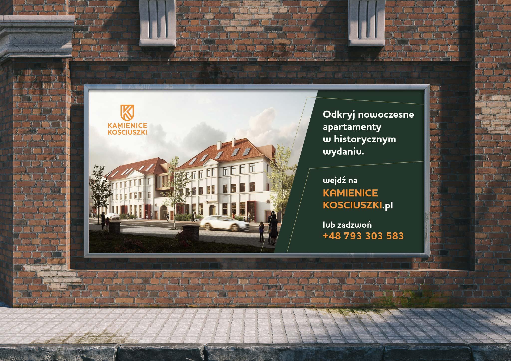 billboard Kamienice Kosciuszki