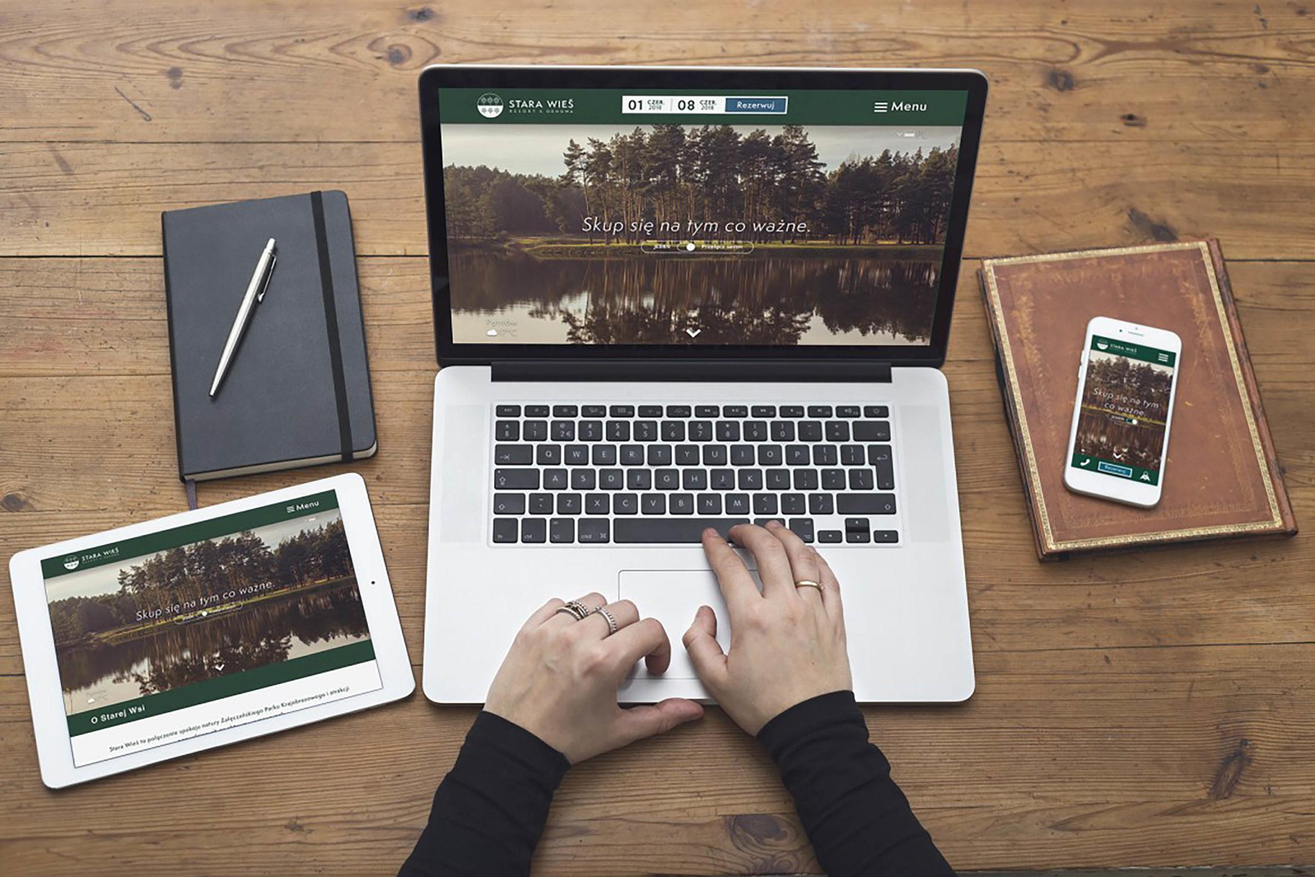 projekt strony stara wies projekt strony stara wies - kto projektował stronę Stara Wieś - Fallow Deer