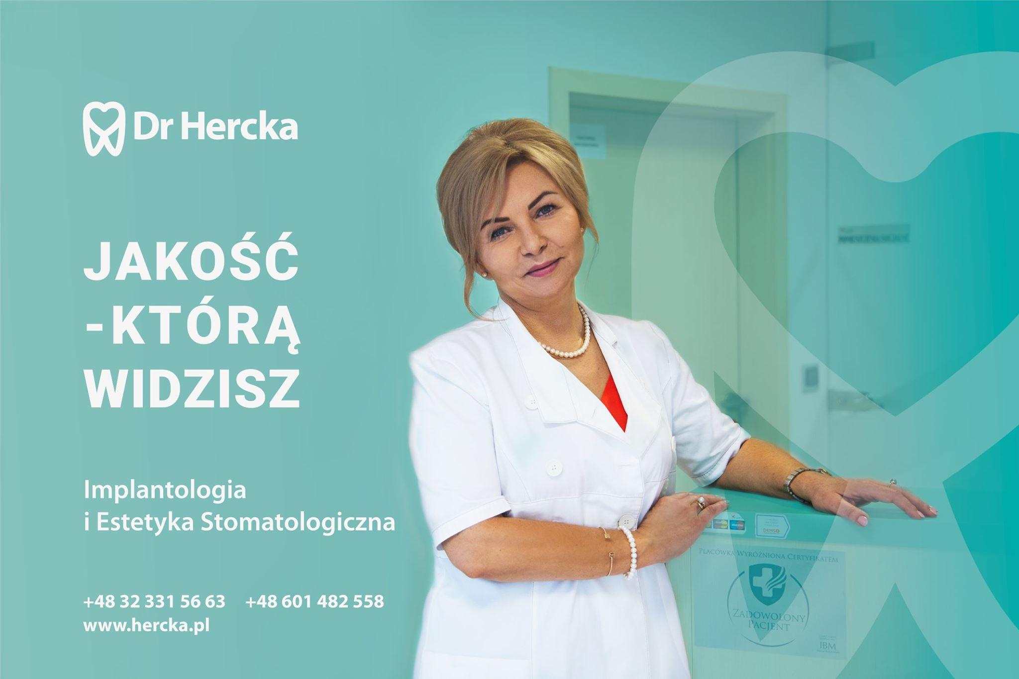 Realizacja dla Dr Hercka - stomatolog Gliwice