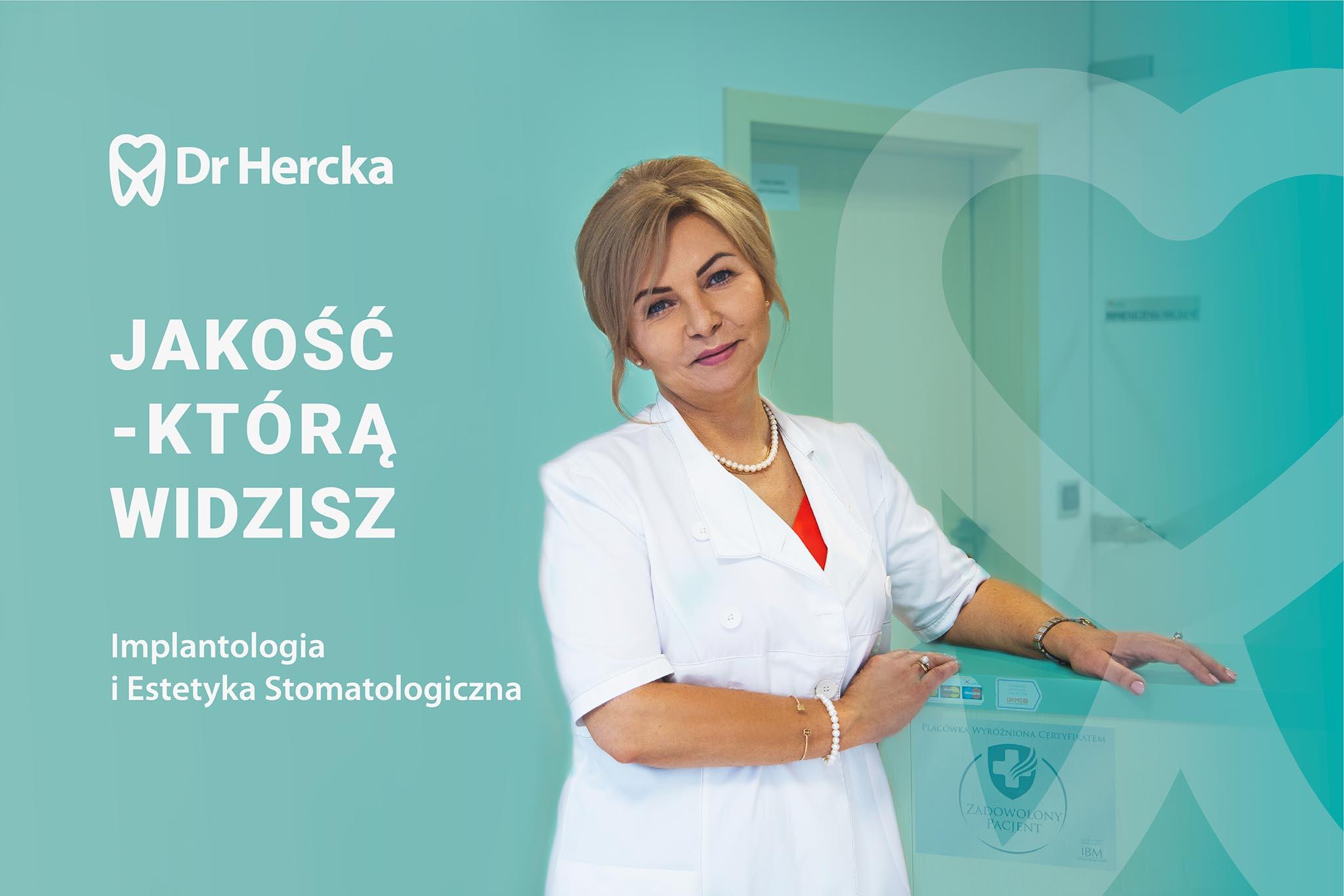dr Hercka Gliwice - identyfikacja wizualna
