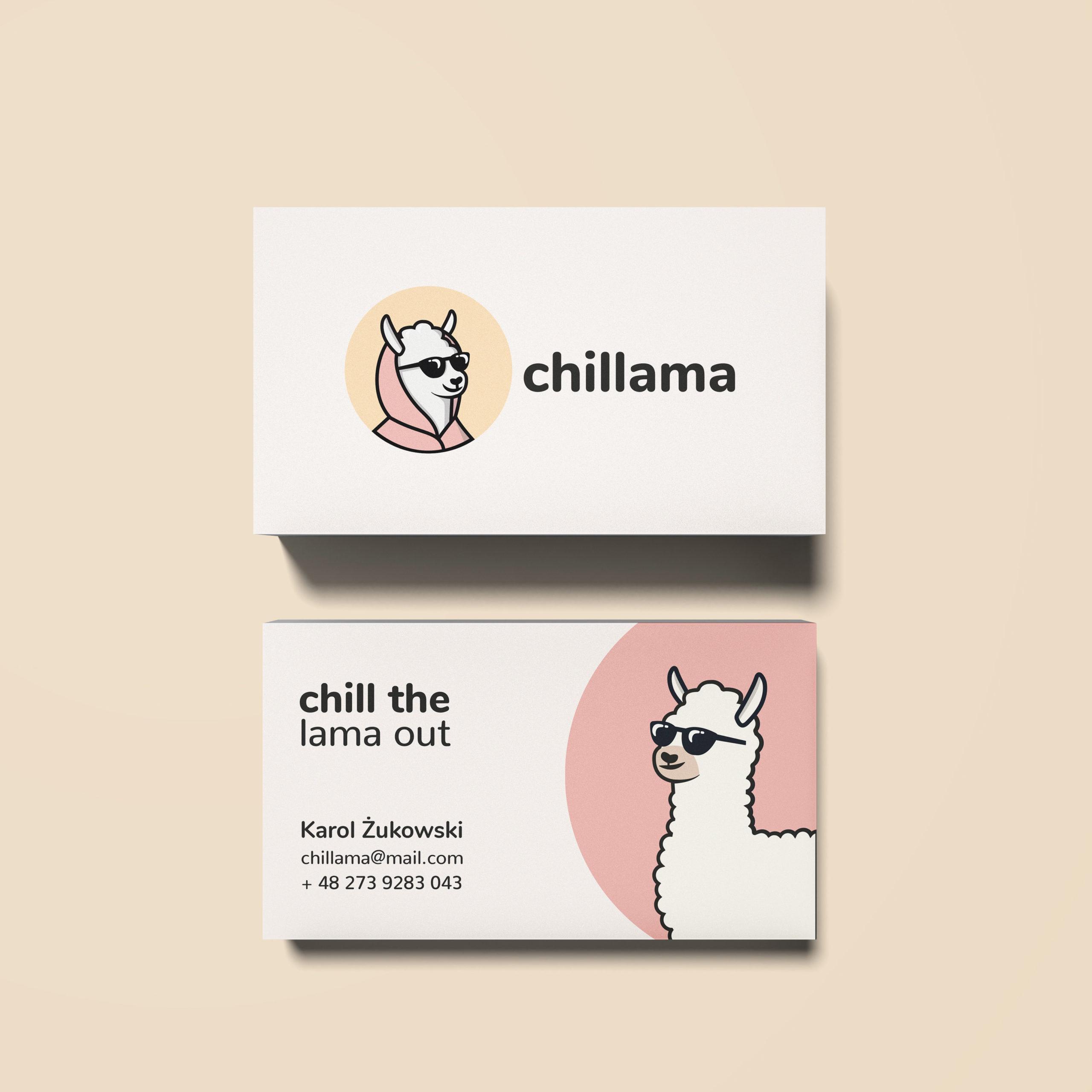chillama logo projektowanie logo warszawa