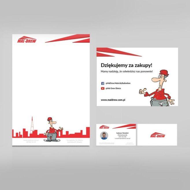 maldrew logo projektowanie gliwice