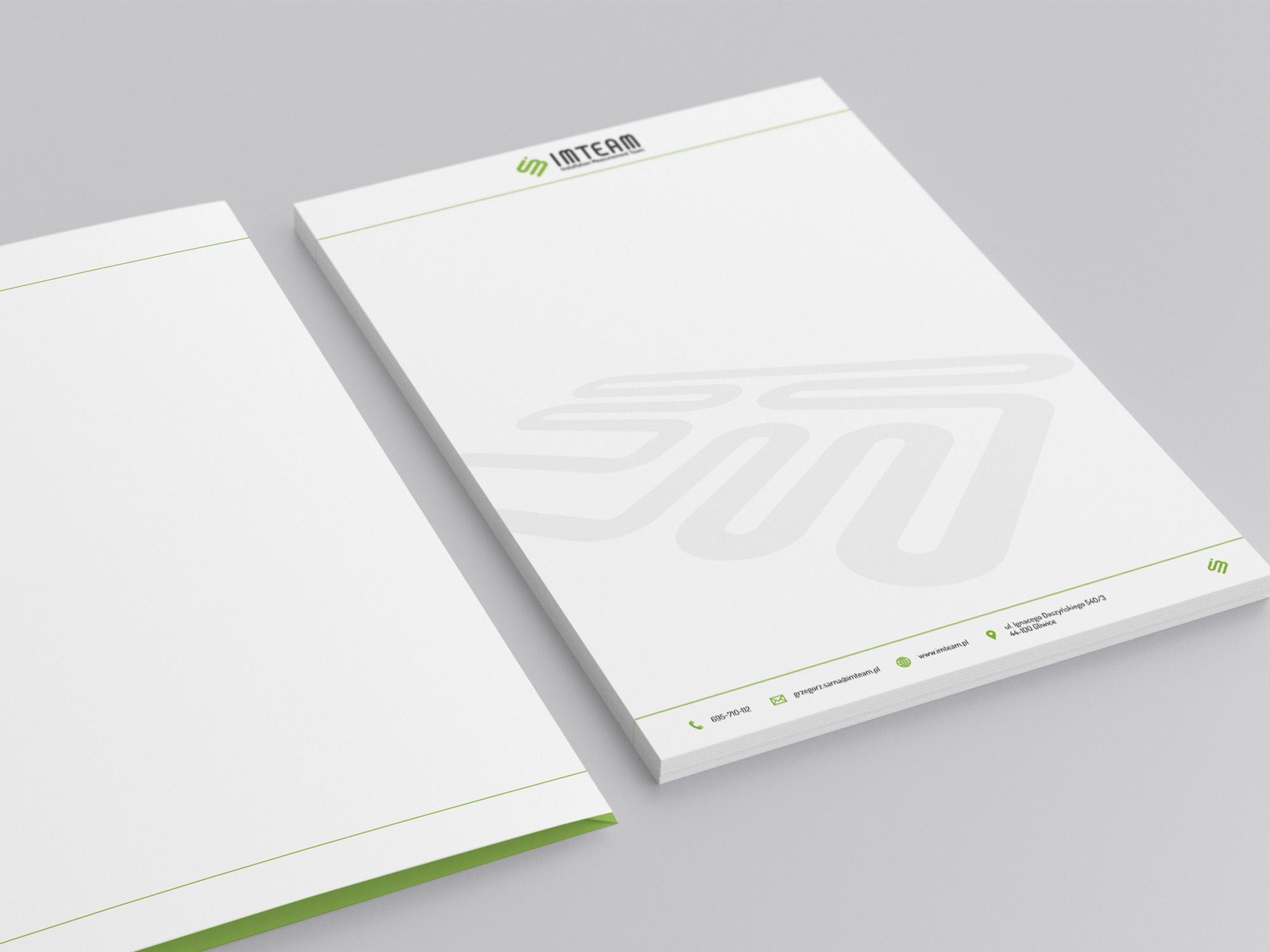 papier firmowy projektowanie